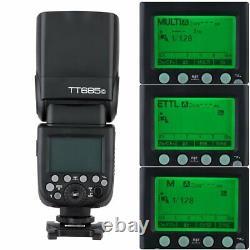 Godox TT685C Camera Speedlight & X1T-C Transmitter Trigger HSS for Canon
