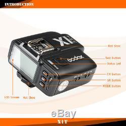 Godox TT685N TTL 2.4G Wireless HSS 1/8000s GN60 Speedlite Camera Flash for Nikon