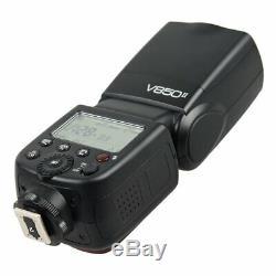 Godox V850II 2.4G GN60 Speedlite 2000mAh Battery f Canon Nikon Pentax Olympus