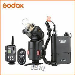 Godox Witstro AD180 Portable Flash Speedlite Wireless Trigger PB960 Battery FT16