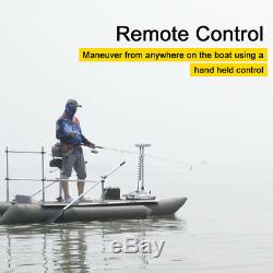 Haswing24V 80LBS 60Bow Mount Electric Trolling Motor & Wireless Remote Control