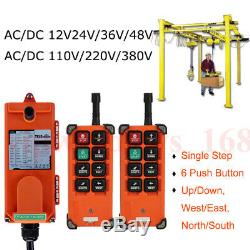 Hoist Crane Radio Industrial Wireless Remote Control Transmitter&Receive F21-E1B