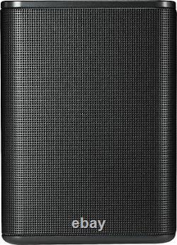 LG Powered Wireless Rear Channel Speakers (Pair) Black