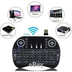 Lot 20 X Backlight i8 Wireless Keyboard 2.4GHz Keyboard Remote Control Touchpad