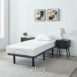 Mainstays Power Adjustable Bed Frame with Wireless Remote Control, Twin-XL
