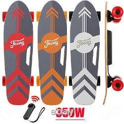 Mini Electric Skateboard 350W Motor Longboard Board Wireless withRemote Control