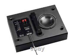 Monoprice SSW-8, 100 Watt Powered Slim 8 Inch Subwoofer Black