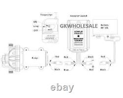 NEW 12 Volt ON/OFF Wireless Remote Control Switch 12v replaces fimco 7771938