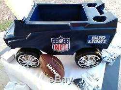 NFL C3 Rover Bud Light Wireless Remote Controlled Hummer Cooler & Stereo! FUN