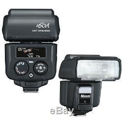 New Nissin i60 i60A TTL FP Flash Speedlite Fujifilm Fuji X-Pro2 USA Support HSS