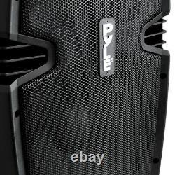 New PPHP1037UB 10'' Powered 2-Way Speaker MP3 USB SD Input + Bluetooth & Record