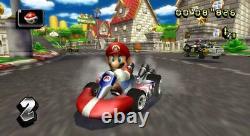 Nintendo Wii Mario Kart Console Bundle Remote Wheel Game
