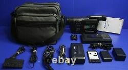 Panasonic NV-RX70A Video Camera VHS Camcorder and Accessories