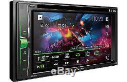 Pioneer AVH-201EX 2-Din 6.2 Touchscreen DVD/CD/USB/iPhone/Bluetooth EQ Remote