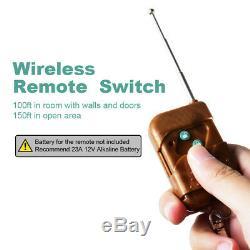Power Inverter 1500W 12/24V to 120/220V Pure Sine Wave remote control wireless