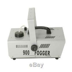 Pro 900W Stage Show Fog Smoke Machine Fogger withWireless Remote Control