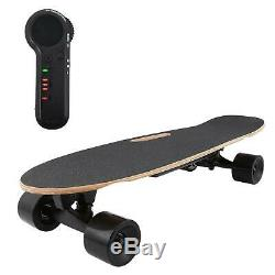 Pro Electric Fish Board Skateboard Sliding Longboard Wireless Remote Control
