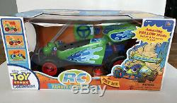 RARE Toy Story Collection RC Wireless Remote Control Car NEW Disney Pixar