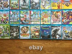 READ LISTING! Nintendo Wii U 8gb White System Console+CHOOSE 1 GAME USA OR MORE