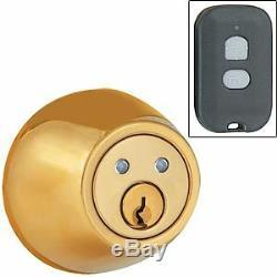 RF Remote Controlled Wireless Door Lock DEADBOLT- BF