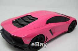 Radio Remote Control Car Lambo Pink Rc Car Sports Rc LED Lights Wireless & Fast