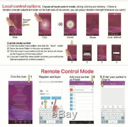 Realov Bluetooth Wireless App Remote Control Butterfly Vibrating Massager Phone