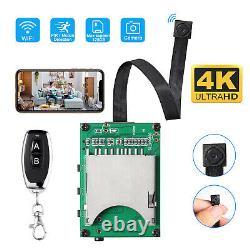 Remote Control 4K Super HD Mini Pin Hole Spy Camera Video Recorder Wireless Wifi