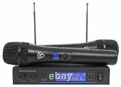 Rockville Bluetooth Home Theater/Karaoke Machine System with(2) Subs+Wireless Mics
