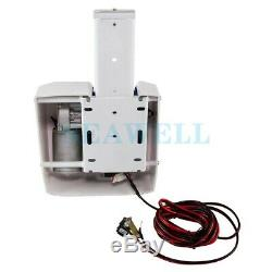 Saltwater 35 Electric Anchor Winch With Wireless Remote Pontoon Boat Control Kit