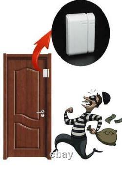 Security Alarm Wired Wireless GSM Home Burglar 433MHz Remote Control System