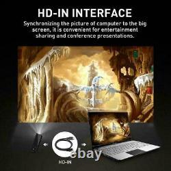 Smart DLP WiFi Mini Projector 1+8G / 2+16G 4K HDMI USB Bluetooth Home Theater
