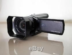 Sony FDR-AX100 4K Camcorder BUNDLE