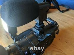 Sony FDR-AX100 4K Camcorder Black