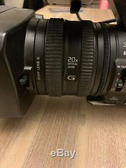 Sony HVR-Z5P HD Professional PAL Video Camera With HVR-MRC1 Memory Recording Unit