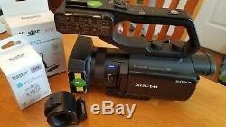 Sony PXW-X70 Camcorder 4K Upgradable BROKEN mic holder black