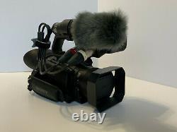 Sony PXW-Z90 4K Camcorder including new external Sony ECM-MS2 mic