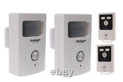 Two Room 3G Wireless (UltraPIR) GSM Alarm (very easy to program & operate)