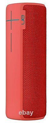 UE BOOM 2 Wireless Bluetooth Waterproof Rechargeable Mobile Speaker (RED) NEW