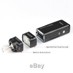 US Godox AD200 2.4G wireless Camera Speedlite Flash 1/8000s for Canon Nikon Sony