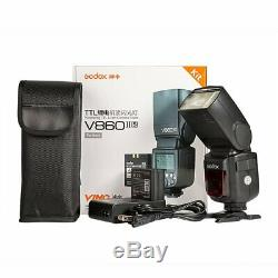 US Godox V860II-N GN60 2.4G i-TTL Li-on Battery Camera Flash Speedlite F Nikon