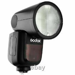 US Stock Godox V1-S 2.4G TTL HSS Round-head Camera Flash Speedlight for Sony Kit