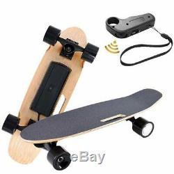 USAElectric Fish-Board Skateboard E-Longboard Wireless Handheld Remote Control