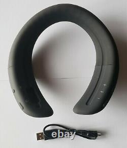 Unused Bose SoundWear Companion Wireless Wearable Speaker in Bulk Pkg BLACK