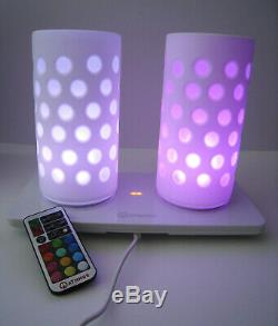 VERY RARE Mathmos DUO Wireless Remote Controlled Lights with Box etc