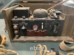 WWII Canadian Army Wireless Remote Control Unit No. 1 Commando Radio Set WS19