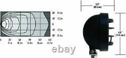 Warn W350F 3.5 Halogen Fog/Driving Lamp Kit Wireless Remote Control Save