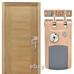 Wireless Door Lock Keyless Lock Remote Control Anti-theft For Home Room Security