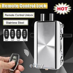 Wireless Electronic Smart Door Lock Remote Control Unlock Security Anti-theft