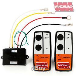 Wireless Winch Remote Control Twin Handset 12v 12 Volt Winchmax