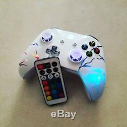 Xbox One Arcade Fire Techfire LED wireless controller +remote xbox one S e